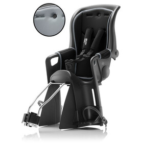 Britax Römer Jockey Relax Kindersitz mit 1 Bezug schwarz/grau